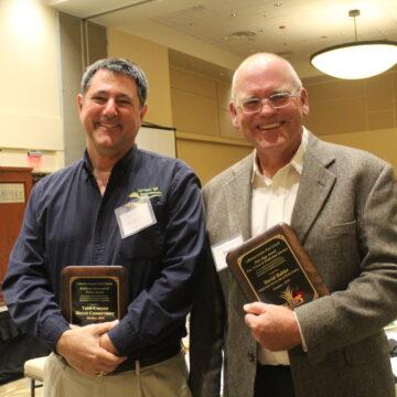 2019 Symposium Award Winners TUbb Canyon and David Bakke