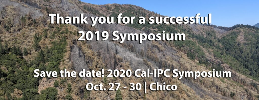 Save the Date 2020 Cal-IPC Symposium Chico