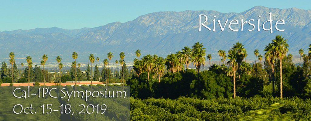 Cal-IPC Symposium Riverside 2019 Header
