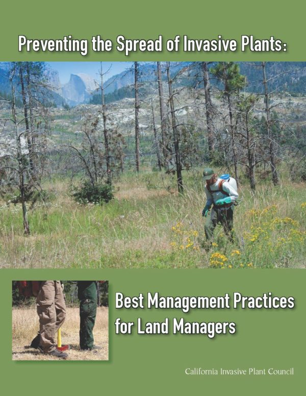Preventing the Spread of Invasive Plants: Best Management Practices for Land Managers