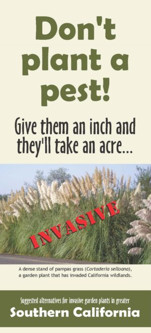 Don't Plant a Pest Southern California Brochure