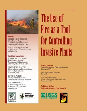 Use of Fire as a Tool for Controlling Invasive Plants