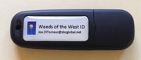 Grass and Broadleaf Weed ID USB