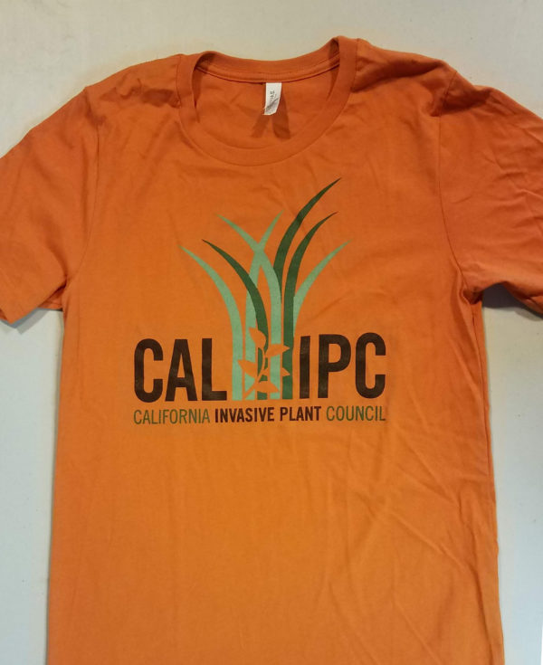Cal-IPC tshirt orange front 2018